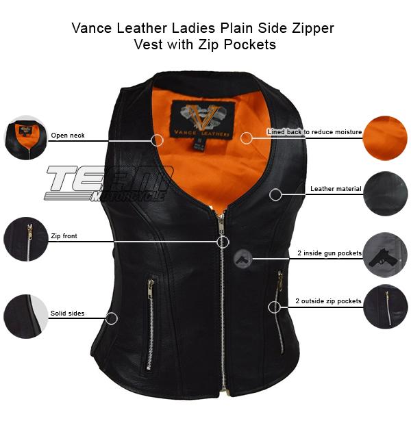 vance-leather-ladies-plain-side-zipper-vest-with-zip-pockets-description-infographics.jpg