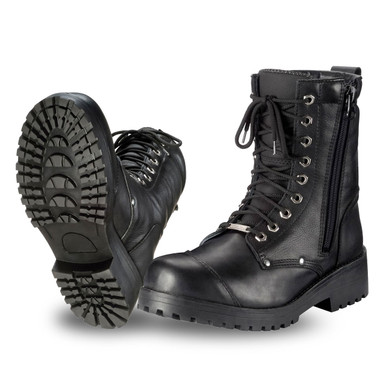 8 Tourmaster Coaster Waterproof Boots Black