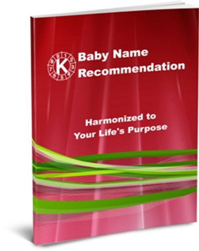 Baby Name Recommendation Package - Newborn plus 1 parent