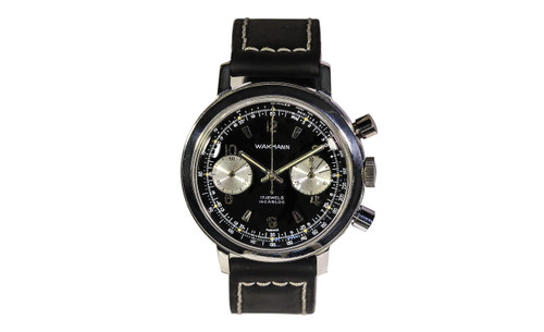 1959 Wakmann Double Register Chronograph