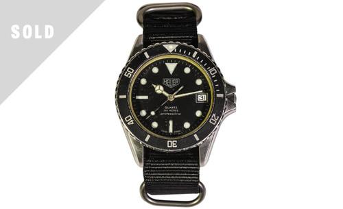 SOLD 1984 Heuer Diver