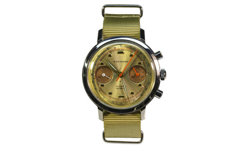 1960's Wakmann Double Register Chronograph