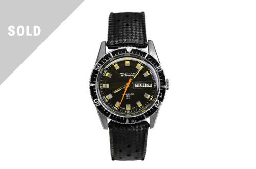 1960's Waltham Dive Watch