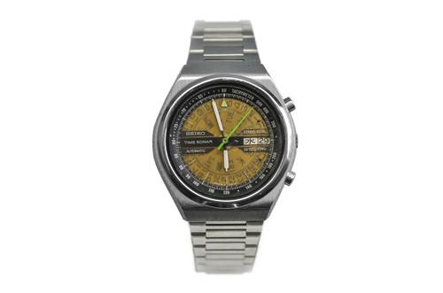 1970's Seiko Time Sonar Flyback Chronograph