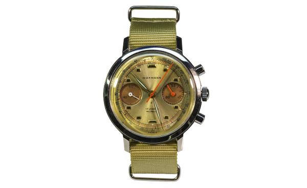 1960's Wakmann Double Register Chronograph