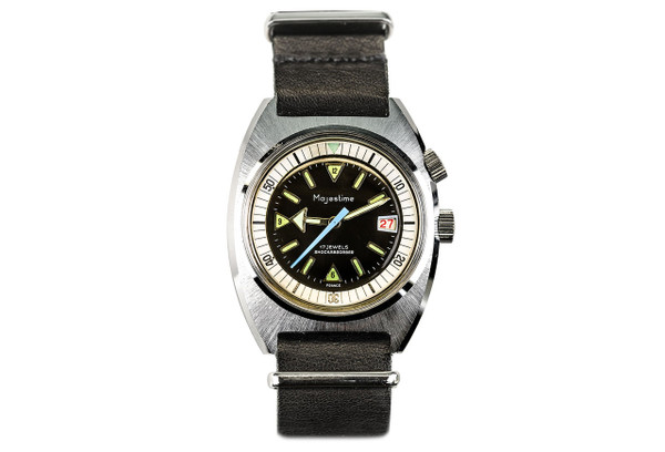 1970's Majestime Compressor Dive Watch