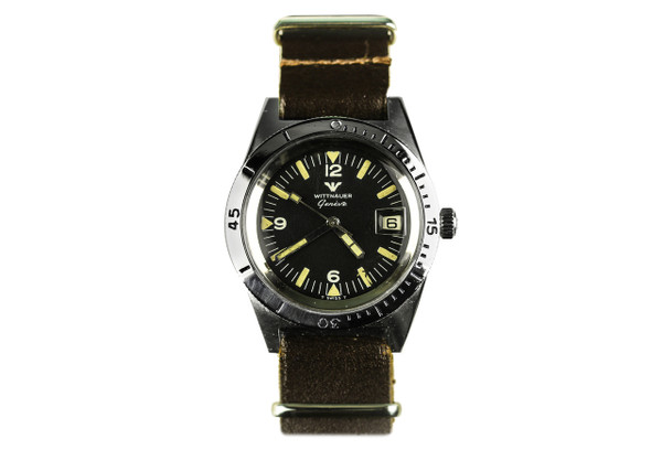 1960's Wittnauer Dive Watch