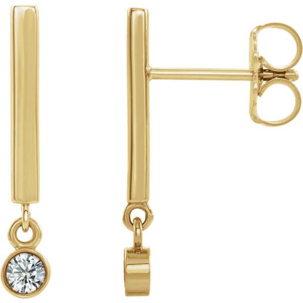The Bezel Earrings