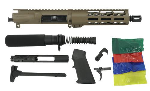 "ALWAYS ARMED 7.5"" 5.56 NATO PISTOL  KIT - MAGPUL FDE"