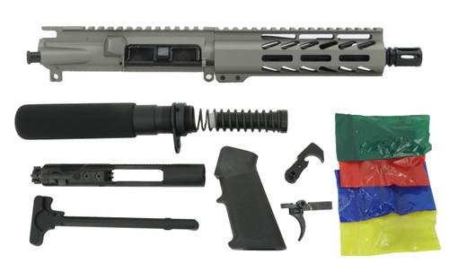 """ALWAYS ARMED 7.5"""" 5.56 NATO PISTOL KIT - TITANIUM"""