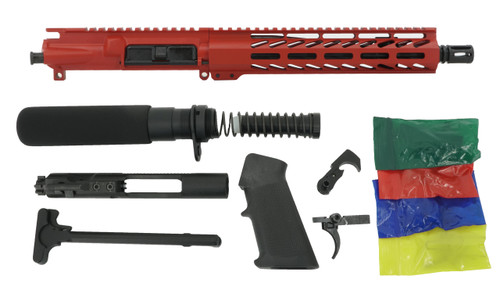 """ALWAYS ARMED 10.5"""" 5.56 NATO PISTOL KIT - SMITH & WESSON RED"""