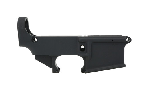 Always Armed 80% Lower Receiver - Black Anodized