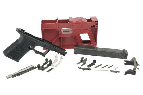 GLOCK 19 COMPACT 9MM BUILD KIT WITH POLYMER 80% LOWER