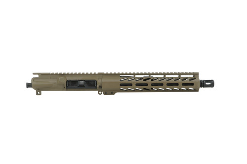 "Always Armed Magpul Flat Dark Earth 10.5"" 300 Blackout Upper Receiver"