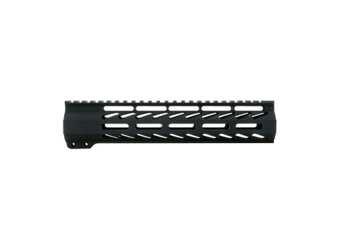 "ALWAYS ARMED 10"" MLOK HAND GUARD - HARD COAT BLACK ANODIZED FINISH"