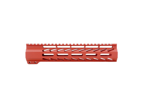 """ALWAYS ARMED 10"""" M-LOK HAND GUARD - SMITH & WESSON RED"""