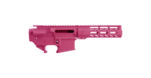 """AR15 Stripped Upper, 7"""" M-LOK Rail and 80% Lower Receiver   Always Armed"""