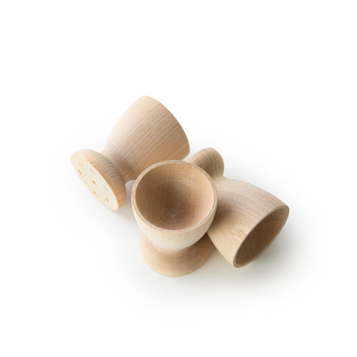 Organic Maple Wooden Egg Cups