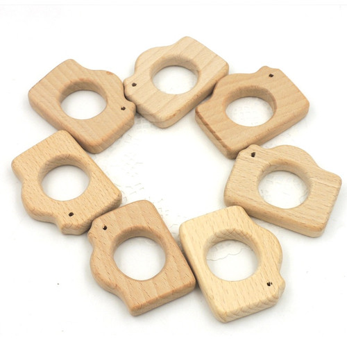 Wooden Camera Teether