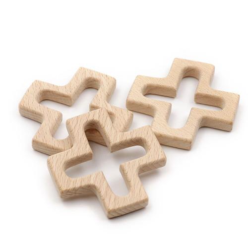 Wooden Cross Teether