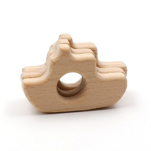 Wooden Boat Teether