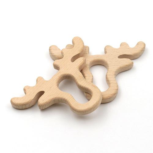 Wooden Maple Antler Teether