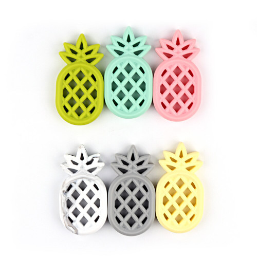 Silicone Pineapple Teether  - 12pc