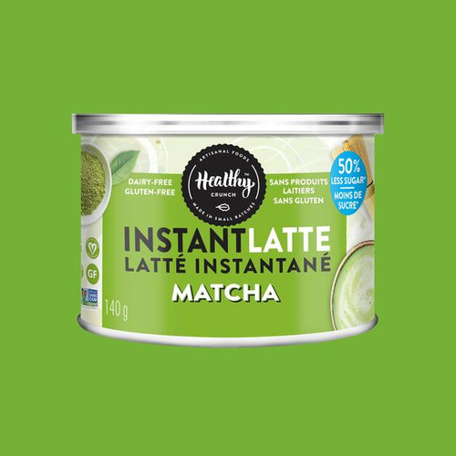Healthy Crunch Matcha Instant Latte