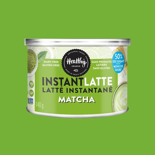 Healthy Crunch Matcha Instant Latte