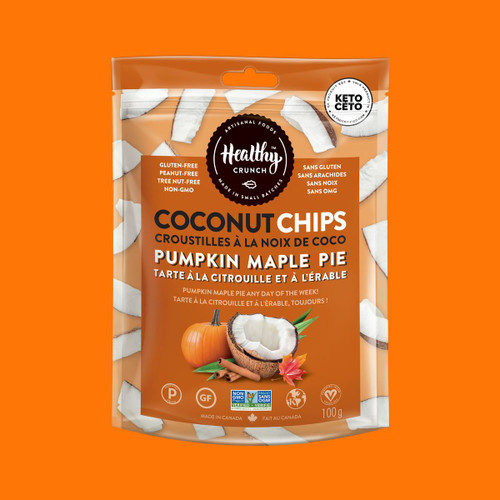 Coconut Chips - Pumpkin Maple Pie