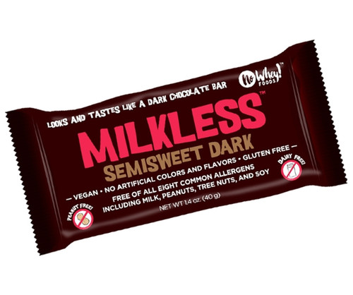 No Whey Milkless Semisweet Dark Bar