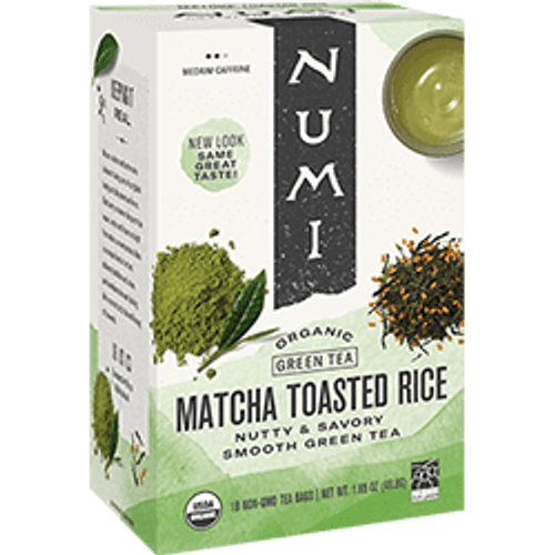 Numi Organic Bagged Tea - Matcha Toasted Rice