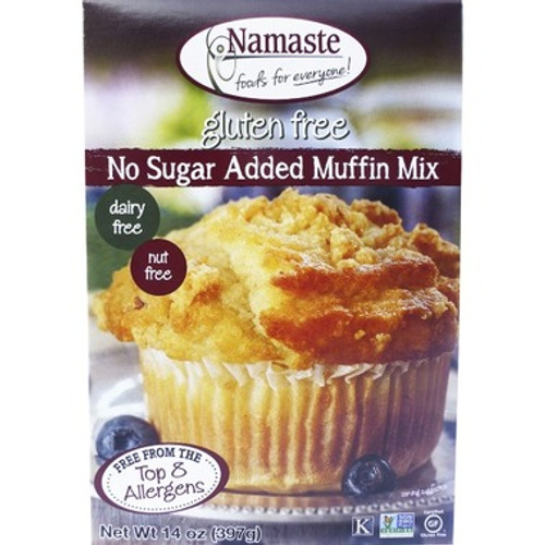 Namaste No Sugar Added Muffin Mix