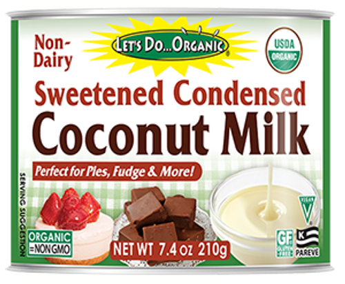 Let's Do Organic Sweetened Condensed Coconut Milk