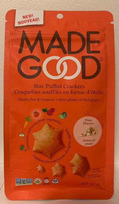 Made Good Star Puffed Crackers - Pizza