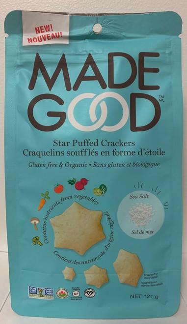 Made Good Star Puffed Crackers - Sea Salt