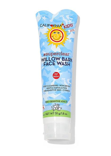 California Kids Superclear Willowbark Face Wash