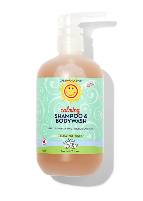California Baby Calming Shampoo & Bodywash 19oz