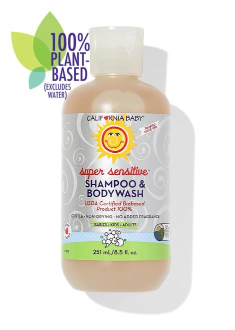 California Baby Super Sensitive Shampoo & Bodywash