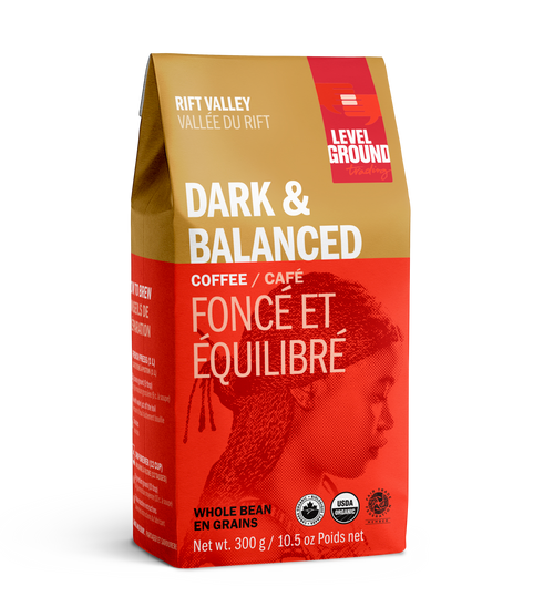 Level Ground Organic Ground Coffee - Rift Valley Dark & Balanced