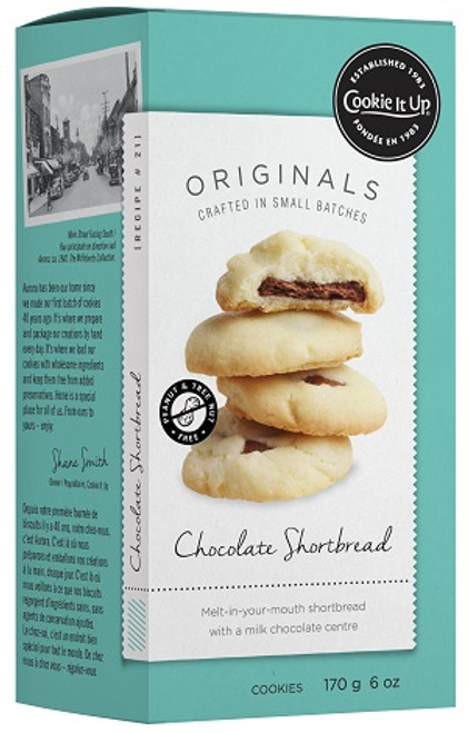 Cookie It Up Chocolate Shortbread Cookies