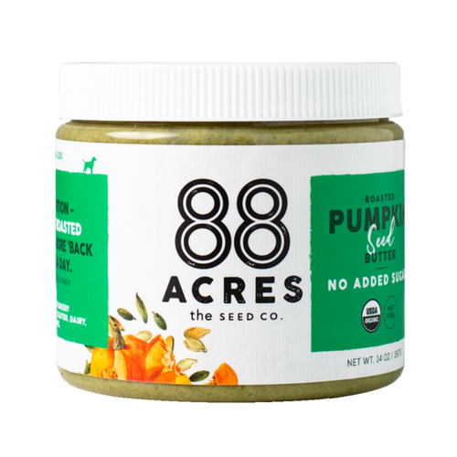 88 Acres Pumpkin Seed Butter - No Sugar Added - FINAL SALE BB MAY 11