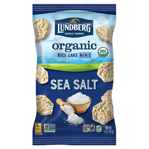 Lundberg Organic Rice Cake Minis - Sea Salt