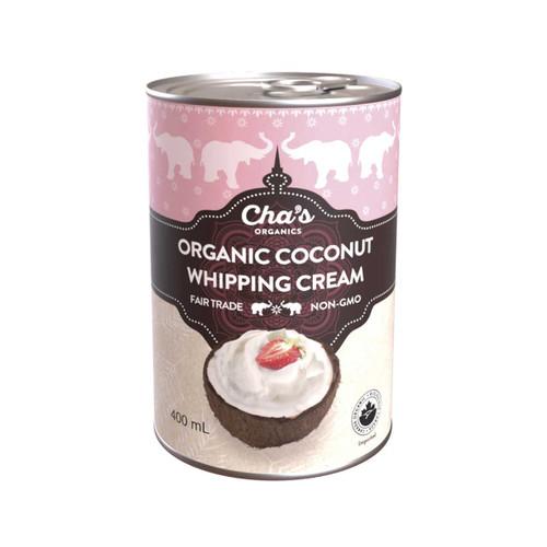 Cha's Organics Coconut Whipping Cream