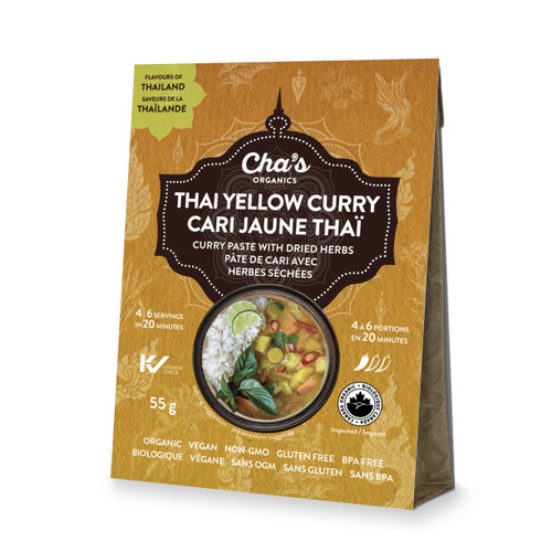 Cha's Organics Thai Yellow Curry