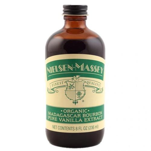Nielsen Massey Organic Fairtrade Madagascar Bourbon Pure Vanilla Extract - Large Bottle