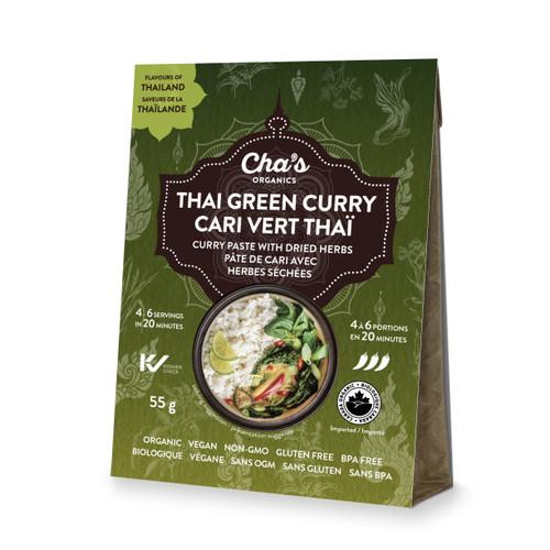 Cha's Organics Thai Green Curry