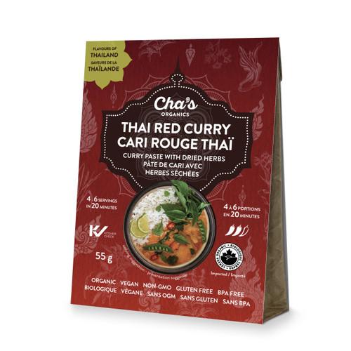 Cha's Organics Thai Red Curry