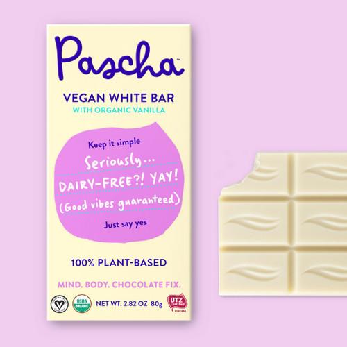 Pascha Organic White Vegan Bar