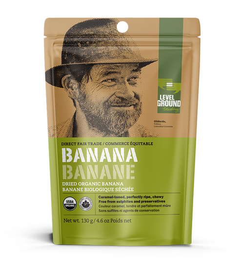 Level Ground Dried Bananas